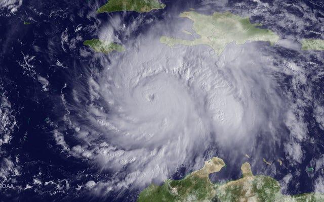カテゴリ4のハリケーンがハイチに上陸したばかり