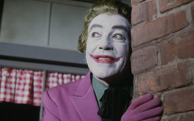 ジョーカーは50年前から映画やテレビ番組に夢中になっています