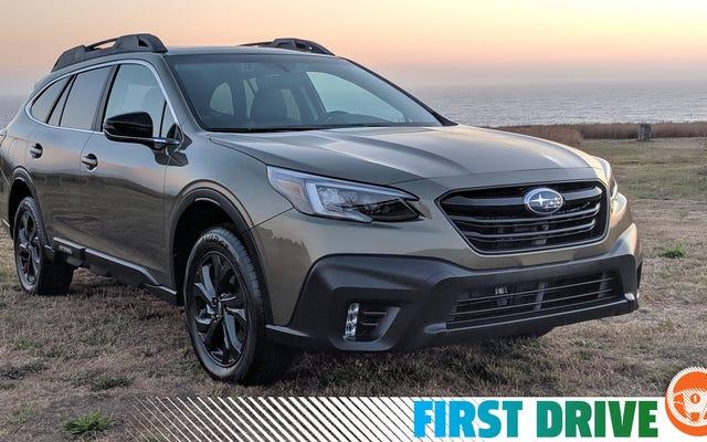 Le Subaru Outback 2020 ne révolutionne pas le monde, mais ce n'est pas obligatoire
