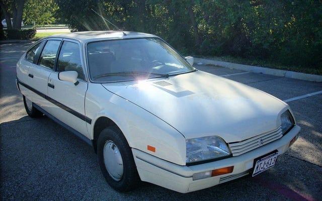 ราคา 6,250 ดอลลาร์ Citroën CX 2200 TRS ปี 1988 นี้อาจเป็นสีเทาของคุณ (ตลาด)