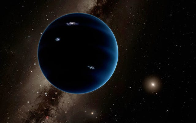 Quand l'enfer trouverons-nous la planète neuf?