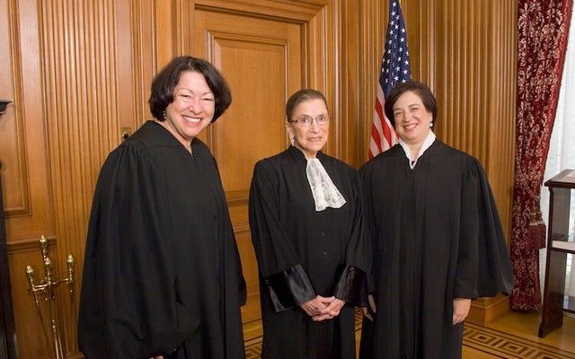 Les trois femmes juges de la Cour suprême se battent bec et ongles pour les droits reproductifs