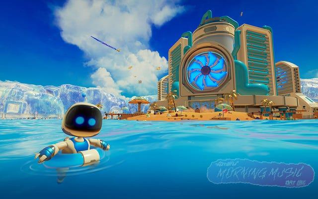 Phòng chơi của Astro khiến tôi yêu thích GPU của PS5