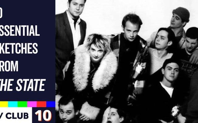 MTVの見過ごされがちな宝石TheStateの機知を紹介する10のスケッチ