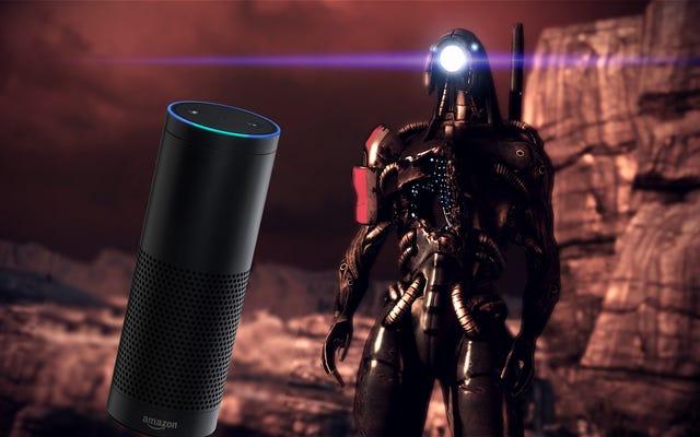 Mass Effectの最高の瞬間の1つは、AmazonEchoイースターエッグです。