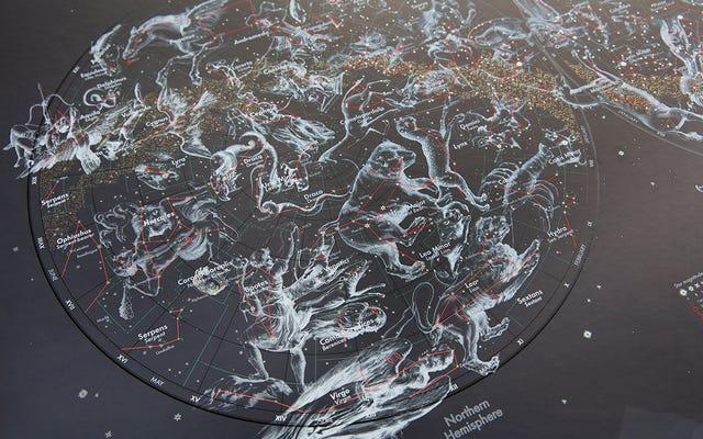 Cette carte d'étoiles envoûtante fera bave votre geek de l'espace intérieur