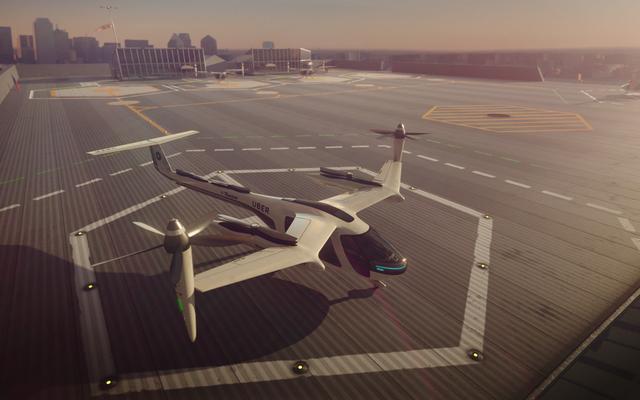 UberはNASAと協力して、2020年までに2年先の空飛ぶクルマを製造します(時計を見てください)。