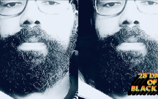 28 dias de alegria negra: minha barba pandêmica luxuriante, opulenta e suculenta