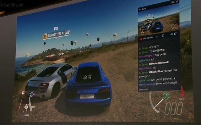 Windows10はこの春に組み込みのゲームストリーミングを取得します