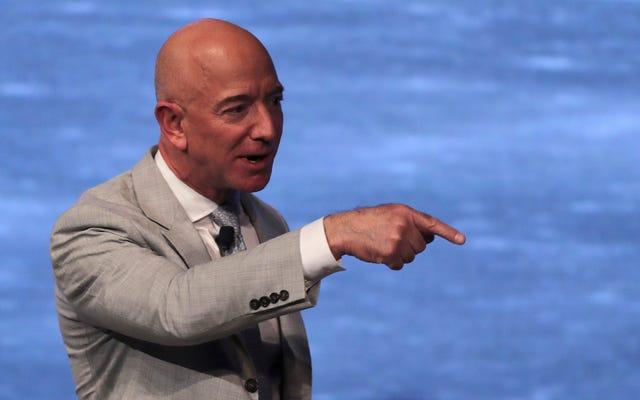 ジェフ・ベゾスが18億ドルのアマゾン株を現金化し、税引き後も14億ドルを維持する