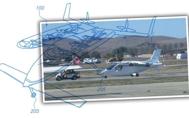 これがGoogleの共同創設者からの秘密の空飛ぶクルマです