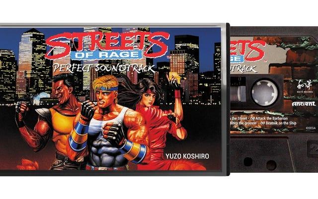 クラシック・ストリート・オブ・レイジのサウンドトラックがカセットで再発行される