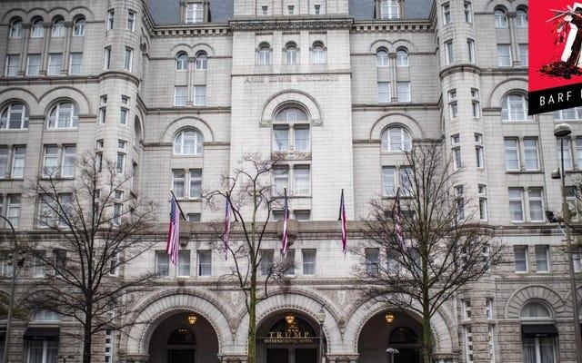 トランプホテルがトランプ大統領に家賃の値下げを要求