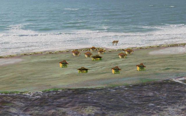 先史時代の人間は海を防ぐために壁を作りました—しかしそれは失敗しました