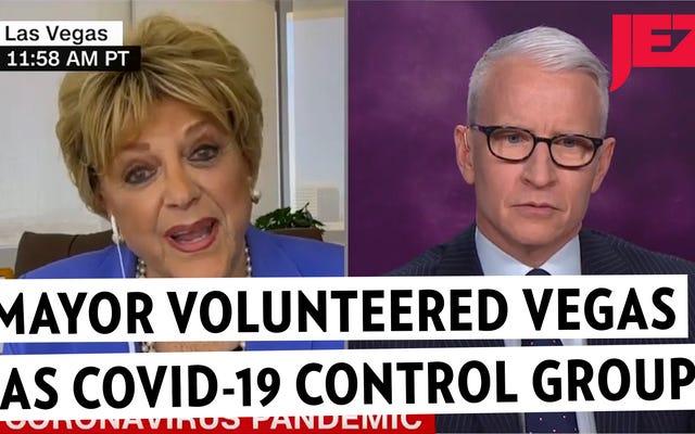 Walikota Las Vegas Menawarkan Penduduk Sebagai Korban Virus Corona Dalam Wawancara yang Tak Tertahankan