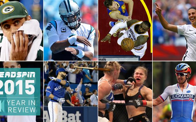 Moments sportifs préférés de Deadspin en 2015