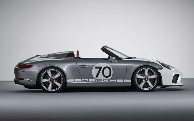 Le concept Porsche 911 Speedster est un moteur de 500 CV conçu à la perfection