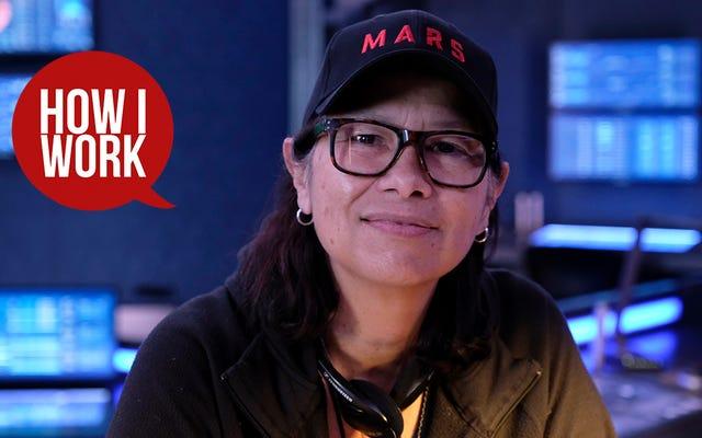 私はMARSショーランナーのディージョンソンです。これが私の仕事のやり方です