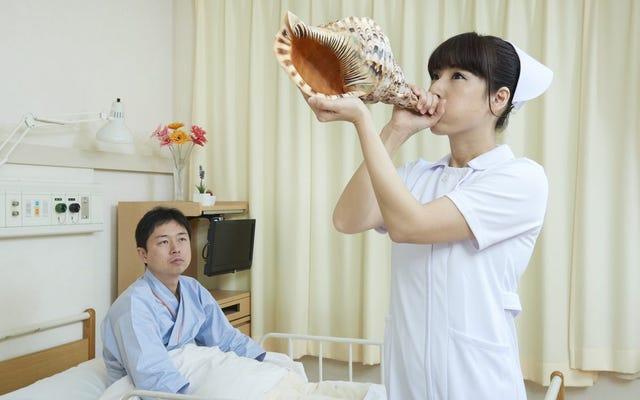 Japanische Stockfotos, die absichtlich seltsam sind