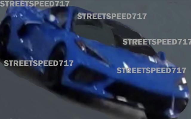 Est-ce la Corvette à moteur central avant que vous ne soyez censé la voir?