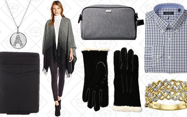 衣料品、ジュエリーなどは、Amazonの1日直前のギフトセールで50ドル未満です