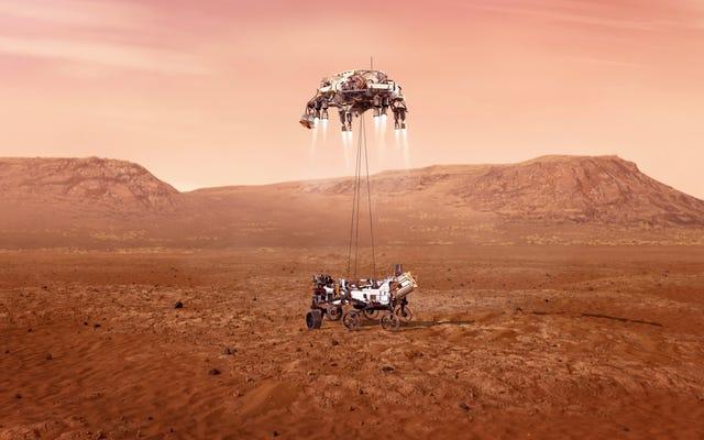 Как звучит Марс? Марсоход Perseverance собирается выяснить это