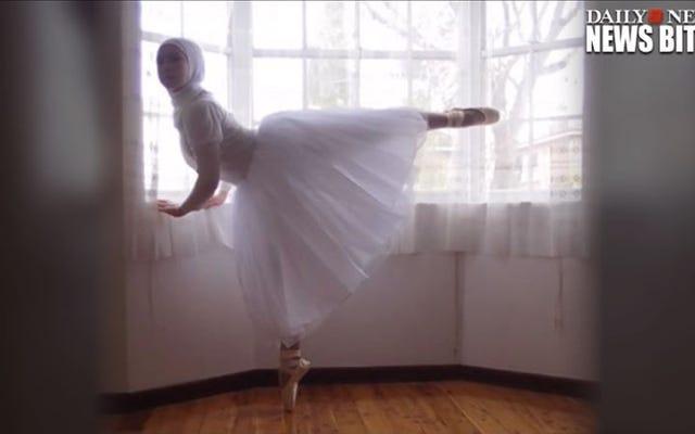 Une adolescente australienne veut être la première ballerine portant le hijab
