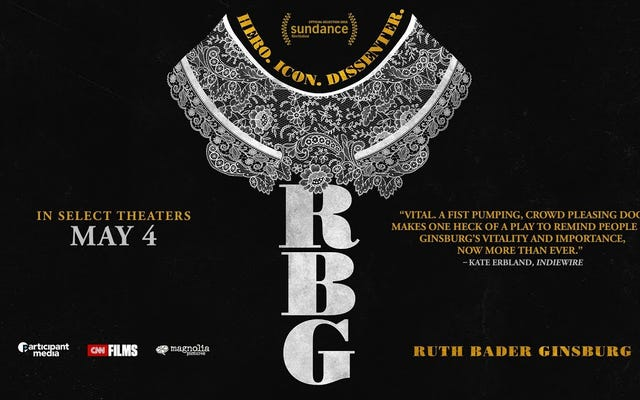 """Ruth Bader Ginsburg wspomina, że czuła się jak """"nauczyciel w przedszkolu"""" dla mężczyzn w zwiastunie RBG"""