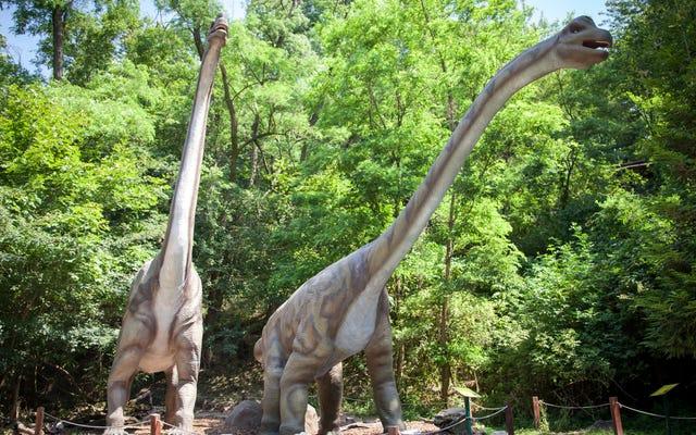 Sử dụng bản đồ này để tìm ra loài khủng long nào đã sống trong khu vực của bạn