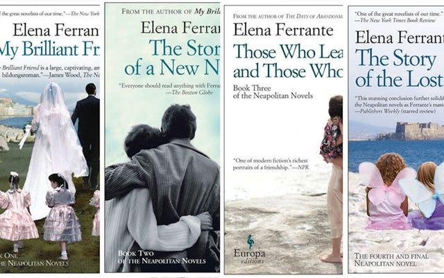 एलेना फेरेंटेन गार्जियन के सबसे नए स्तंभकार हैं