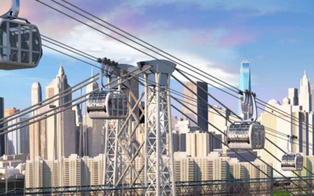 O plano brilhante para construir uma gôndola de Williamsburg a Manhattan
