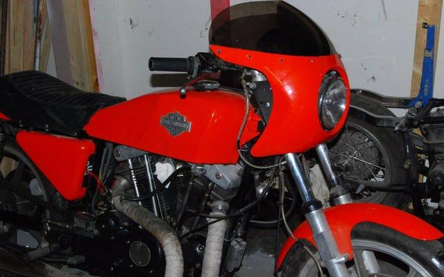 Untuk $ 5,995, Maukah Anda Menjadi Hog Wild Untuk Harley Davidson XLCR 1977 Ini?