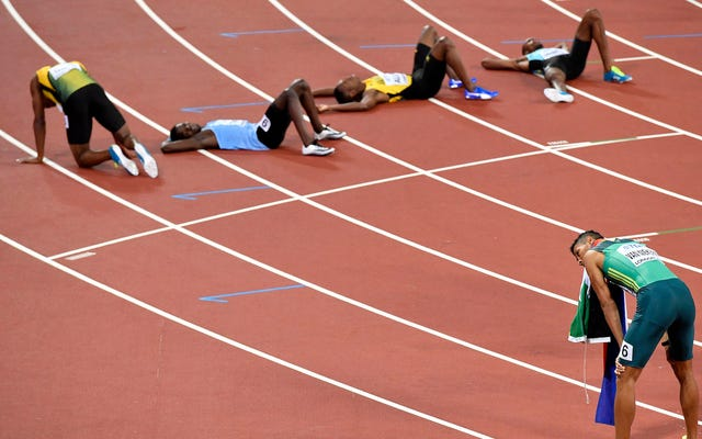 ノロウイルスの発生が陸上競技の世界選手権を締めくくる