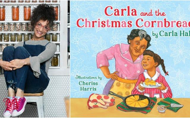 शेफ कार्ला हॉल ने अपने पहले बच्चों की किताब कार्ला और क्रिसमस कॉर्ब्रेड की घोषणा की
