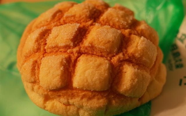 日本で一番美味しいパンはメロンパン