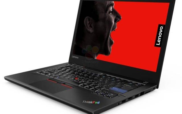 Lenovoの不思議な25周年記念ThinkPadリークについての詳細