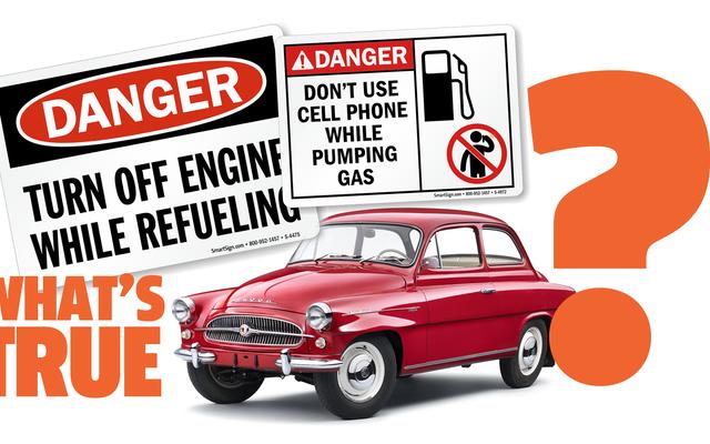 Rozwiążmy te pytania dotyczące pompowania gazu: czy można bezpiecznie uzupełniać paliwo przy włączonym silniku lub podczas korzystania z telefonu komórkowego?