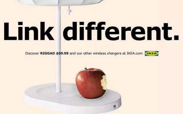 อะไรจะพังก่อนกัน iPhone ของคุณหรือเฟอร์นิเจอร์ Ikea ที่ชาร์จแบบไร้สายของคุณ