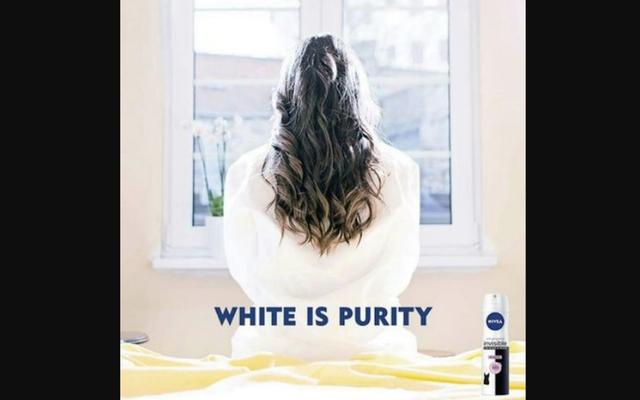 """Nivea выпускает рекламу """"White Is Purity"""", но я ее никогда не забуду"""