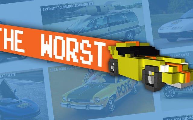 पास्ट कॉमिक-कॉन्स से सिक्स कम से कम लोकप्रिय वीडियो गेम-थीम्ड कारें