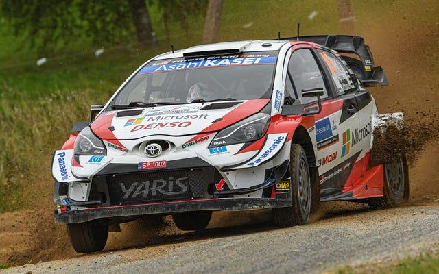 WRCのザニーモンツァラリーステージは銀行業務を含み、私はそれについてすべてです
