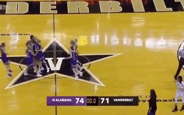 North Alabama gây sốc cho Vanderbilt để giành chiến thắng trong trò chơi DI đầu tiên của họ