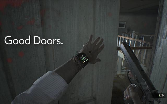 Resident Evil 7 a définitivement les bonnes portes