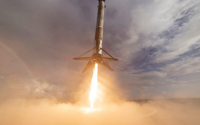SpaceX ne parvient pas à atterrir l'une de ses fusées pour la première fois après 26 lancements réussis