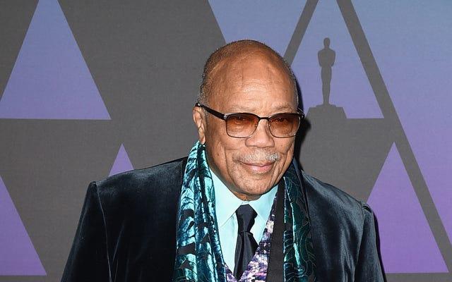 アフリカンアメリカン映画評論家協会がクインシージョーンズ2019特別業績オノリーに名前を付ける