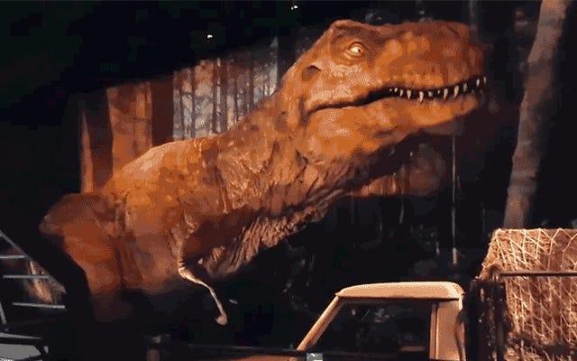 すべての博物館の恐竜はこれを行う必要があります