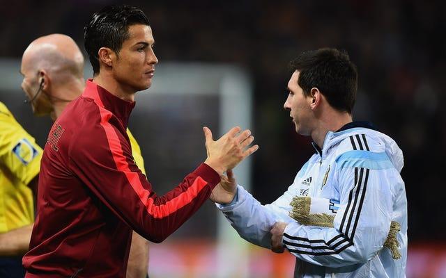 Policja: Ronaldo kontra Debata Messiego kończy się, gdy jeden facet zabija swojego kumpla odłamkiem szkła