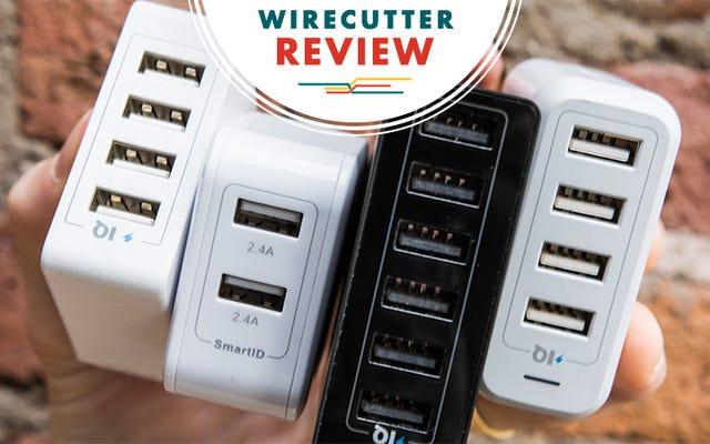 En İyi Çok Bağlantı Noktalı USB Duvar Şarj Cihazları