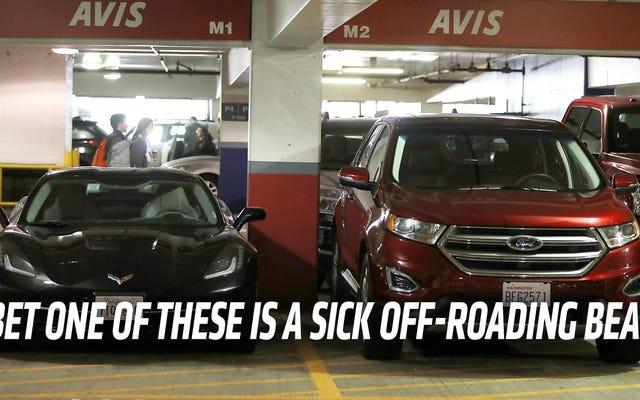 एक किराये की कार पर आप सबसे अधिक दुरुपयोग क्या है?