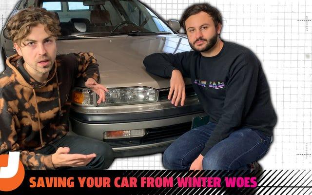 Lascia che Two Dunces From Georgia ti mostri come preparare la tua auto per l'inverno